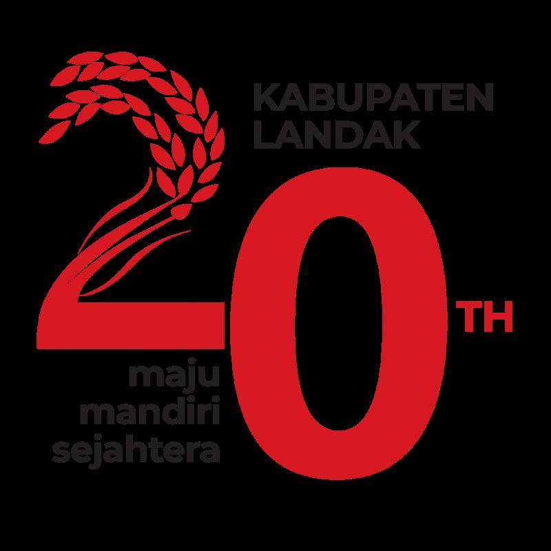 Logo HUT 20 Pemkab Landak
